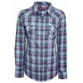 Wrangler womens &quot;Smokey&quot; checked L/S shirt